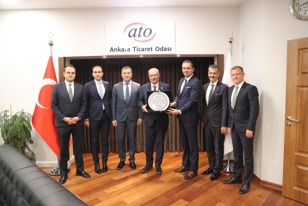 ATO Başkanına Ziyaret